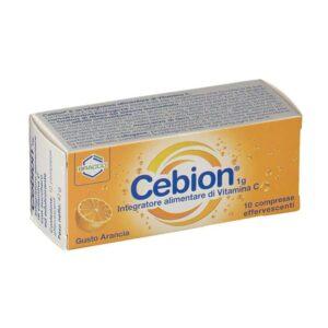 CEBION EFFERVESCENTI VITAMINA C E ARANCIA - 10 compresse