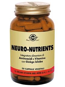 SOLGAR - NEURO-NUTRIENTS - 30 capsule
