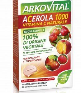 arkovital acerola - 30 compresse masticabili