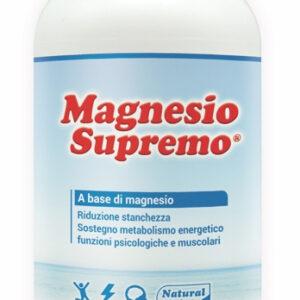 MAGNESIO SUPREMO - INTEGRATORE ALIMENTARE A BASE DI MAGNESIO