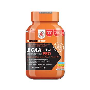 NAMED SPORT - BCAA 4:1:1 EXTREMEPRO - 110 compresse
