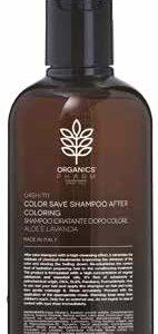 organics pharm color save shampoo after coloring