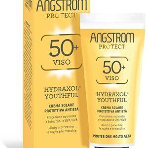 ANGSTROM HYDRAXOL YOUTHFUL - CREMA SOLARE PROTETTIVA ANTIETÀ SPF 50+