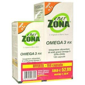 ENERZONA OMEGA 3 RX - INTEGRATORE ALIMENTARE DI ACIDI GRASSI OMEGA 3