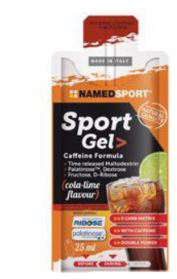 NAMED SPORT GEL CAFFEINE COLA-LIME- 25 ml