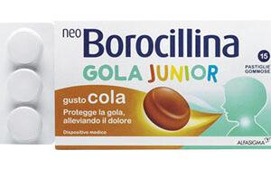 NEOBOROCILLINA GOLA JUNIOR - 15 pastiglie