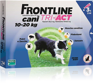 FRONTLINE TRI-ACT CANI 10-20 Kg - 3 pipette