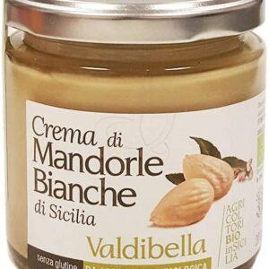VALDIBELLA - CREMA DI MANDORLE BIANCHE BIO