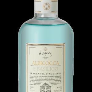 Albicocca Basilico ricarica profumo ambiente Logevy Firenze deodorante ambiente casa