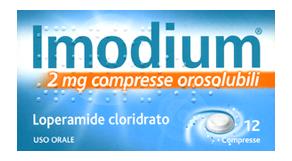IMODIUM OROSOLUBILE - 12 compresse