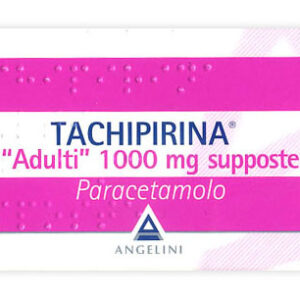 TACHIPIRINA ADULTI 1000 mg - 10 supposte