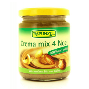 Rapunzel crema Biologica 4 noci arachidi mandorle nocciole su Parafarmacie.shop