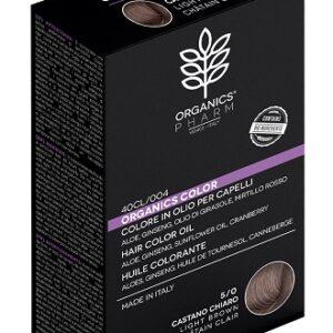 organics pharm organic color 50 castano chiaro Parafarmacie.shop capelli tinta