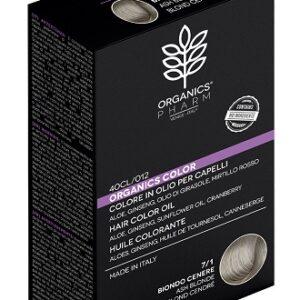 organics pharm organic color 71 biondo cenere su parfarmacie.shop tintura capelli tinta naturale bio