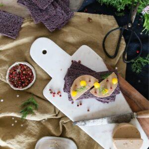 riz_noir_faux_gras-Tartine croccanti Bio al Riso Nero su Parafarmacie.shop