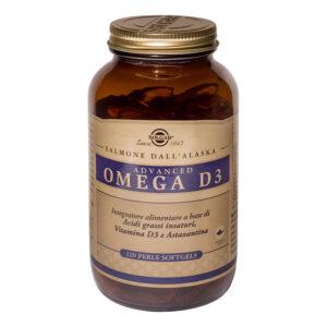 Advanced omega 3D - 120 perle