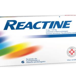 REACTINE - 6 compresse (5 mg+120 mg)
