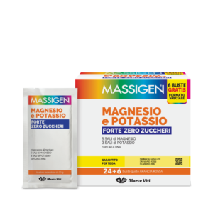 MASSIGEN - MAGNESIO E POTASSIO FORTE ZERO ZUCCHERI