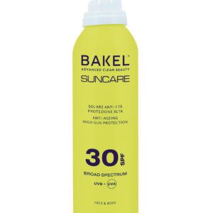 BAKEL - SOLARE SPRAY ANTI-ETÀ VISO & CORPO SPF 30
