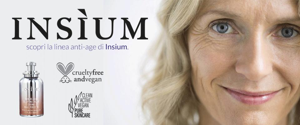 Insium cosmesi anti età pelle anti rughe